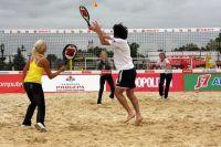 В Саках состаится турнир по пляжному теннису