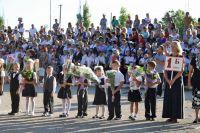 Сакские ученики пошли в школу, 2 сентября 2013