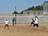 В Саках завершается турнир по пляжному теннису