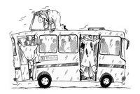 Изменились 1 и 3 маршруты сакского городского автобуса, 30 сентября 2013
