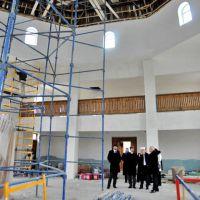 Подожженную в Саках мечеть откроют в январе 2014