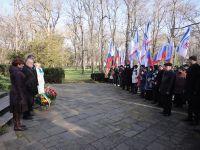 Митинг у памятника Лесе Украинке