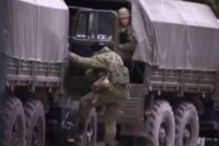 Аэродром в Новофедоровке заблокирован военными, 1 марта 2014