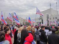 Митинг и концерт в поддержку общекрымского референдума