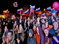 Крым идет домой в Россию, 17 марта 2014