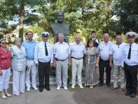 Празднование 98-й годовщины морской авиации ВМФ России в Новофедоровке