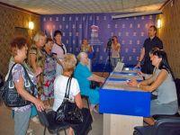 Депутат ГосСовета Крыма Бородкин С.А. встретился с сакчанами, 30 июля 2014
