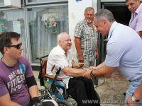 Владимир Константинов встретился с сакчанами