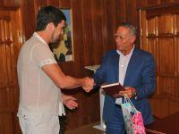 Сакская делегация посетила город Назрань, 18 августа 2014
