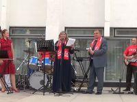 Кандидаты от КПРФ встретелись с жителями Саки