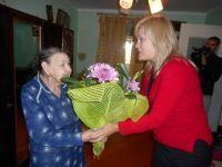 Ираиде Антоновне Арефьевой исполнилось 90 лет