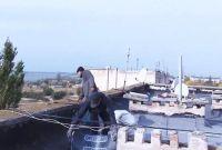 Ремонт дорог и кровель в Саках, 22 октября 2014
