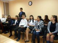 Выборы ученических президентов школ города Саки