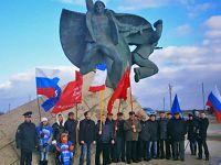 Мероприятия посвященные памяти «Евпаторийского десанта» 1942 года, 5 января 2015