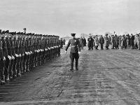 Реконструкция Ялтинской конференции 1945 года на сакском аэродроме