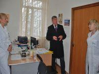 Главы администрации Саки посетил сакскую районную больницу