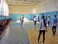Первенство по волейболу среди сакских школьниц, 11 февраля 2015