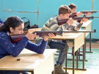 Первенство по стрельбе среди сакских школ, 21 февраля 2015
