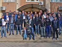 Завершился чемпионат Сакского региона по футболу