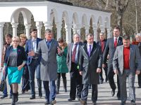 Саки посетила делегация госсовета Крыма