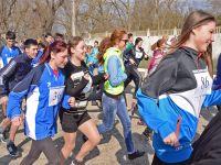 Легкоатлетический пробег по Сакским улицам, 15 марта 2015