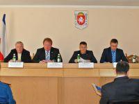 Выездное совещание комитета Госсовета Крыма по туризму в Саках