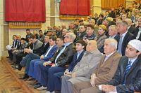 Конференция общества крымских татар Инкишаф