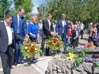 День памяти жертв депортации в Саках, 18 мая 2015