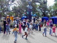 В Саках отметили День защиты детей, 1 июня 2015