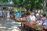 В Саках отметили День семьи, любви и верности, 9 июля 2015