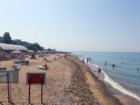 Готовность сакских пляжей к пляжному сезону, 9 июля 2015