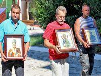 Встреча Крестного хода в Свято-Ильинском храме