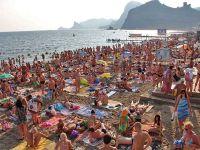 Туристы жалуются на излишнюю доступность крымских пляжей