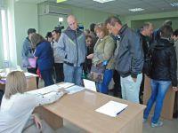 Ярмарка вакансий в Саках, 14 октября 2015