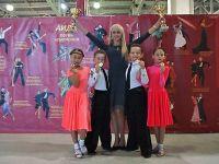 Успех Сакской школы бального танца