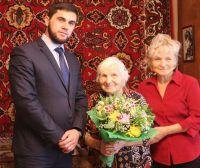 Александре Михайловне Спиридоновой исполнилось 95 лет