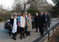 Саки посетила министр здравоохранения России