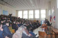Конференция крымских татар в Саках