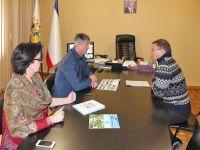 Глава администрации Саки встретился с начальником военного санатория
