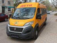 Сакской ДЮСШ подарили микроавтобус