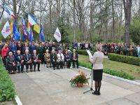 72 годовщина освобождения города Саки от фашистов