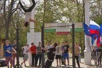 В Саках состоялся городской турнир по Street Workоut, 24 апреля 2016