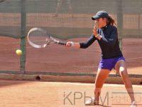 Юная сакчанка победила в турнире по теннису