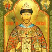 В Саки привезли икону Царя Николая II, 7 мая 2016