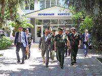 Министр обороны России заглянул в Саки