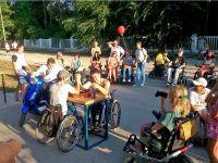 Чемпионат по армрестлингу среди инвалидов