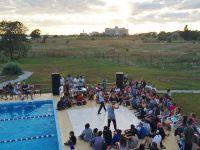 Соревнования по брейкдансу в Саках