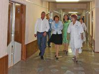 Вице-премьер Крыма посетила санаторий им.Бурденко