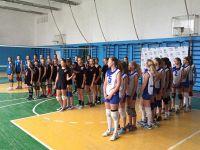 Волейбольный турнир среди девочек