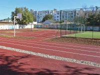В школе №1 реконструирована спортплощадка